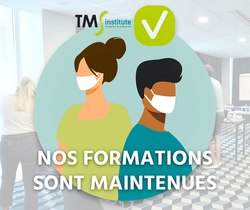 Information COVID-19 : nos formations sont maintenues !